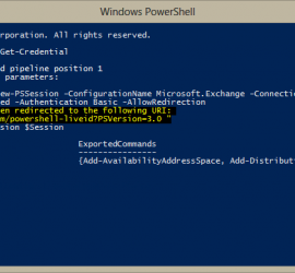 Office 365 Powershell